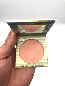 wholesale Single blush cardboard long lasting natural color Compact Peach Color Powder Face Blushes  cosmetic blusher in stock