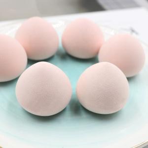 Yaeshii Newest Design Fart Peach Super Soft Pink Makeup Beauty Egg Peach Makeup Sponge beauty Cosmetic Blender Sponge Puff