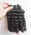 Instock 100% Rmey human hair egg curly funmi hair weave