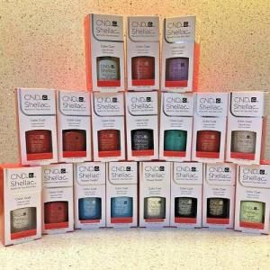 CND Shellac Nail Polish UV Esmalte De Gel 7.3ML All
