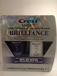 Crest 3D White Brilliance Toothpaste And Whitening Gel System For Wholesale