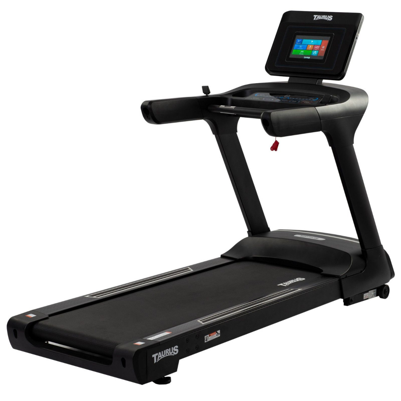 Taurus T9.9 Black Edition Treadmill with entertainment console