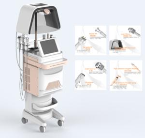 10 in 1 skin care beauty device LED mask/ oxygen jet peel machine hyperbaric oxygen facial machine