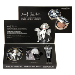 ART CUSHION LUMINOUS REAL ESSENCE SET [EMOTIONAL/ BLACK EDITION]