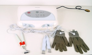 Au-8403 Magic Gloves and Galvanic Therapy Beauty Care Tools and Equipment