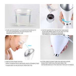 Desktop Portable Deep Cleansing New Beauty Products Facial Steamer with CE Certification