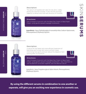 Freroux Hydrating,Blemish, Anti-aging and Dry Skin Serum Set
