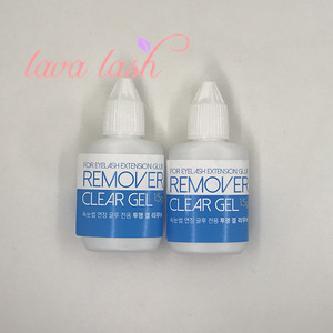 Gel Remover for Eyelash Extension Eyelash Glue Remover Makeup Tools