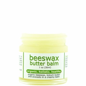 Holistic and Healthy Beeswax Butter Lip Balm