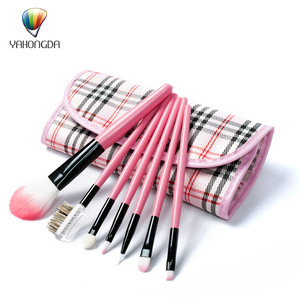 Hot Promotional Products Beauty 7 Pieces Cosmetic Powder Brush Makeup Tool Kits