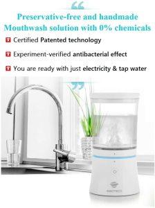 Korea 100% Safe for Children Oral Health Care Chlorhexidine Mouthwash Product  Ebioteco Natural Gargle Plus Liquid  Dispenser