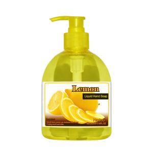 Lemon Scent Hand Liquid Soap Wholesale Hand Washing Liquid Soap