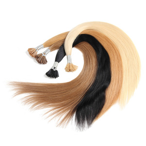 New Product 100% Human Hair Stick I Tip Pre-bonded 1.5gram remy i-tip hair extensions
