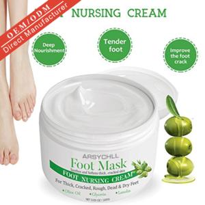 OEM korea natural organic olive oil dead skin removal moisturizing peeling foot mask