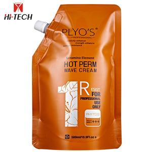 Organic Hair Wave Cream Ceramic permanent straightening Hair Perm Lotion