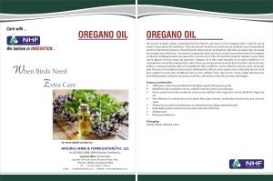 Origanum vulgare  100% Undiluted Oregano Oil .86% Min Carvacrol. and Thymol