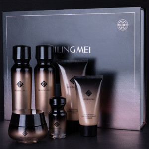 Private Label Fullerene Extract 6 PCS Cosmetic Hydrating Moisturizing SKin Care Set