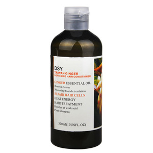 private label  natural hair care herbal ginger shampoo conditioner