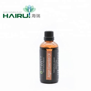 Pure Argan oil for hair treatment