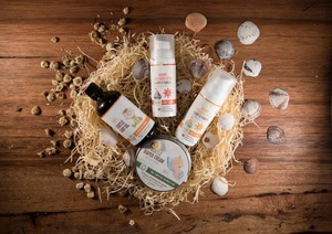 Sunscreen Lotion 30 SPF - 50 ml. 77% Certified Organic Ingredients. Private Label Available. Made In EU