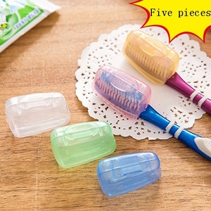 Yiwu manufacturers hot sale brush head protect box travel toothbrush head