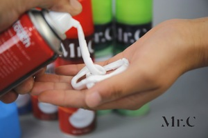 200ml Shaving Foam for sliding the blade leaving the skin soft and smooth without irritation