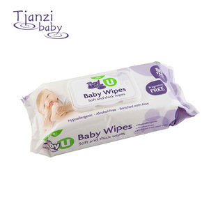 2019 Fashion design supplier sales baby wet wipes natural healthy and safety