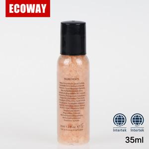 Cheap hotel bath salt for five star hotel shampoo bath gel bottles