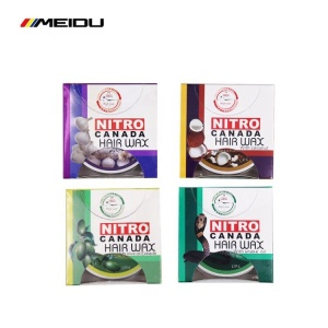 china hair wax factory private label hair styling wax,super fashion fruit mix box nitro canada hair wax with olive snake oil
