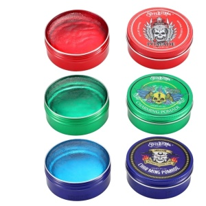 Custom Organic Hair Styling Wax Strong Edge Control hair wax pomade for men private label wax stick for hair