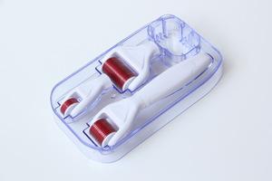New arrival manufacturer titanium derma rolling skin roller system 4 in 1 roller derma