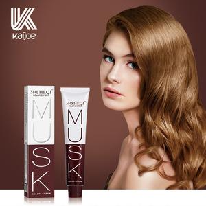 OEM/ODM Warmly low ammonia 52 Shades Hair Dye Colour