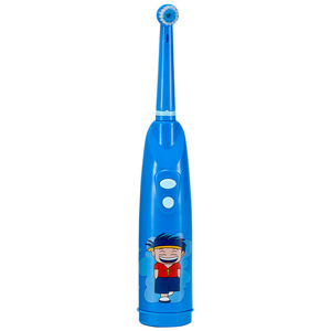 Oral Hygiene Health Products Battery Operated Electric Toothbrush with replacement Heads