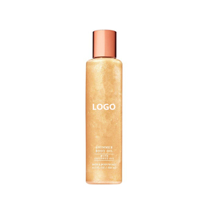 Private Label Bath At The Beach Shimmer Body Oil With Coconut Oil