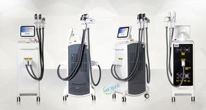 Professional Manufacturer 360 Rotation OPT SHR IPL Elight RF Laser Multifunction Beauty Salon Equipment for Sale