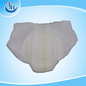 the cheapest disposable cotton adult diaper / nappy manufacture in China