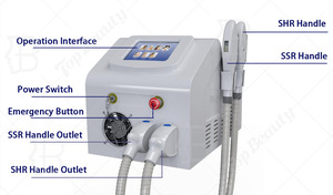 Top Beauty laser shr ipl rf machine