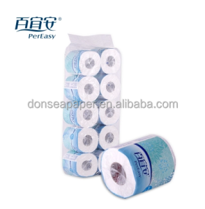 Top Quality Rapid Dissolving Ultra Soft Bamboo Toilet Paper Tissue Roll