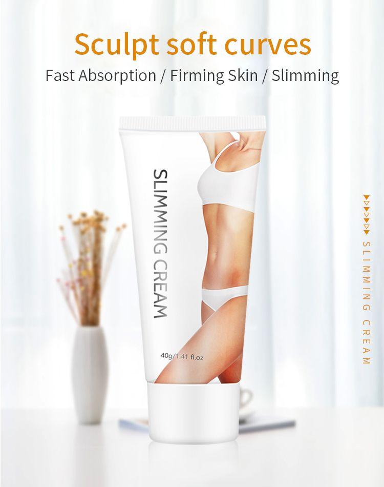 weight loss custom thigh sweat waist burn body hot fat women slim lotion organic private label slimming cream