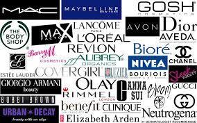 All major make up brands