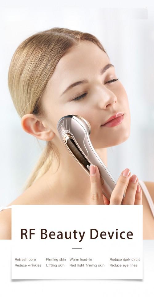 RF red light facial beauty massager/ Sain portable radio frequency rf red light facial beauty massager instrument high frequency beauty instrument