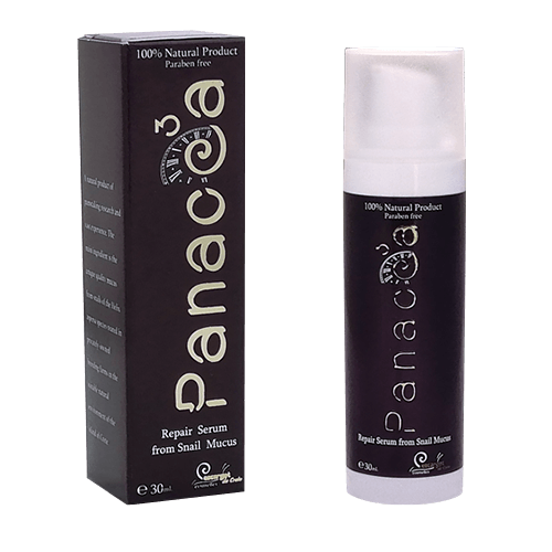 24h Repair Serum from 80% high quality snail secretion - Panacea3 Gold Line