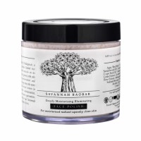 Timeless Beauty Secrets Organic Paraben Free Shea Butter Moisturising, Skin Lightening Face Scrub For Normal to Dry Skin (Vegan)