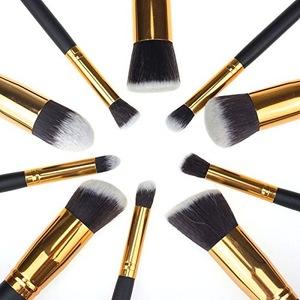 2018 Cosmetic Tools 10pcs Makeup Brush Sets Professional Makeup Brushes
