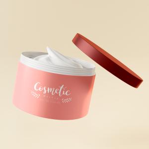 Custom Scented body cream body massage cream for black skin