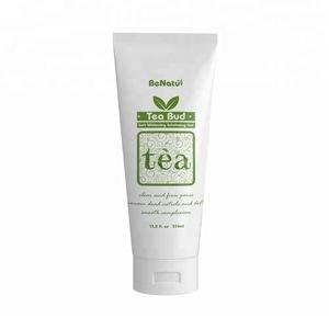 Face Wash Cleanser Soft Whitening Tea Tree Exfoliating Peeling Facial Gel,facial cleanser gel