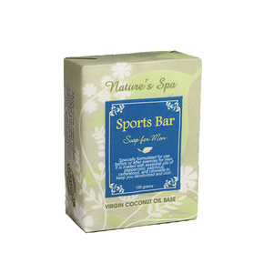Natures Spa High Quality Handmade Men Sports Bar Soap