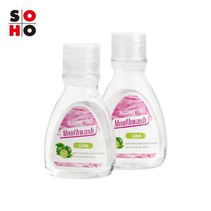 OEM liquid private logo antiseptic fresh breath cleaning teeth mouthwash