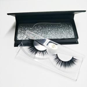 Under Fake 3D silk clear band Bottom False Eyelashes for sale