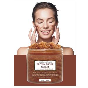 Wholesale Customized organic Brown sugar Scrub Body Exfoliator Anti-wrinkle spot